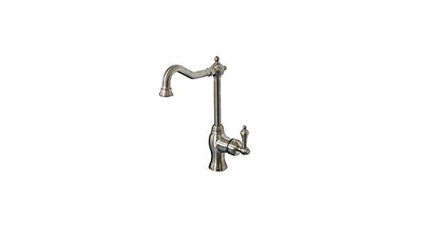 Belle Foret Ss Whus576 Single Handle Bar Faucet In Stainless Steel Plumbing Equipment Amazon Com