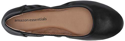 Donna Amazon Blk EssentialsBelice Women's Ballet Neroblack FlatBallerine IbH2YWDE9e