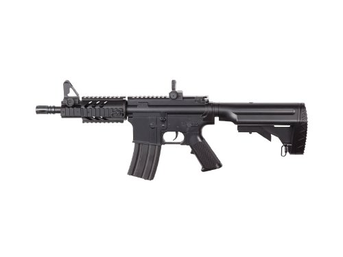 ASG DS4 CQB M4 AEG Airsoft Rifle with Red Dot Sight & Flashlight