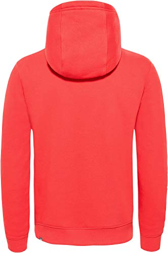 salsa North Face Peak The shirt Sweat Drew Rouge Red Homme ax1nq8