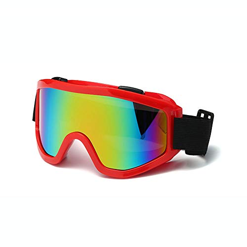 Outdoor Sports Glasses,PC Anti-Chemical Goggles for Adults with Windproof Anti-Impact Anti-UV,H