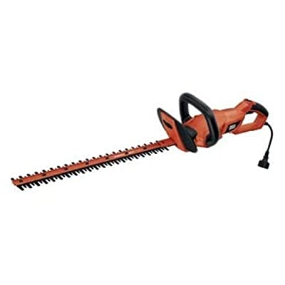 NEW Black & Decker HH2455 24-Inch HedgeHog Hedge Trimmer With Rotating Handle .#GH45843 3468-T34562FD486533