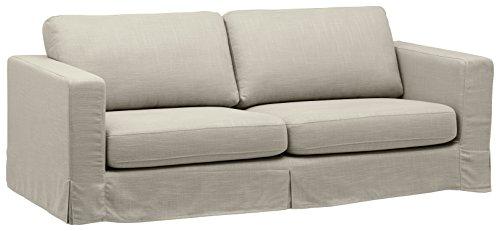 "Stone & Beam Bryant Modern Slipcover Sofa, 85""W, Storm Grey"