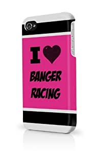 Banger Racing Pink iPhone 5/5S Case - For iPhone 5/5S - Designer PC Case