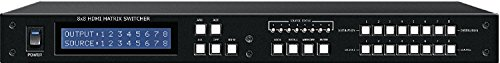 (8x8 4k2k UHD HDMI HDTV MATRIX ROUTING SWITCH w/DIGITAL AUDIO INPUTs & OUTPUTs)