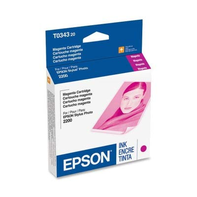 NEW EPSON OEM INKJET INK FOR STYLUS PHT 2200 - 1 STANDARD YIELD MAGENTA INK (Printing Supplies)