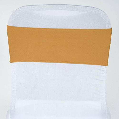 Mikash Spandex Chair Sashes Bows Ties Wedding Reception Decorations Dinner Wholesale | Model WDDNGDCRTN - 4591 | 25 pcs