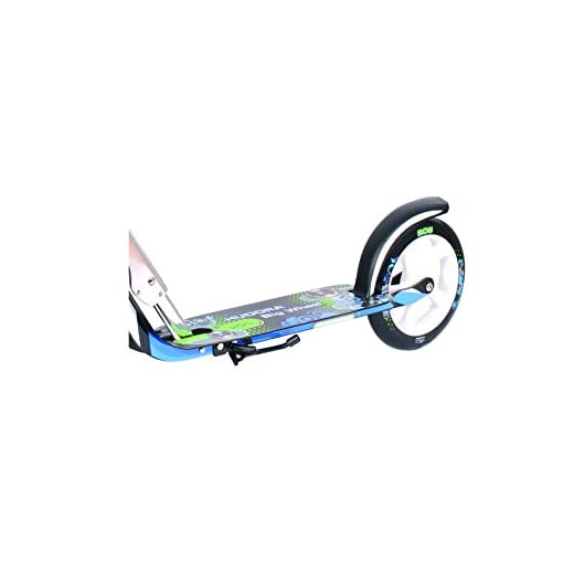 Hudora Big Wheel 205 Trottinette Vert/Bleu