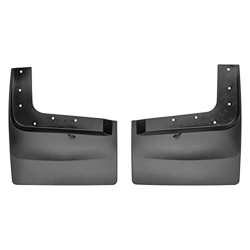 All Weather Weathertech Mudflap Guards for Ford F-350/F-450 Dually 2017 Rear Pair