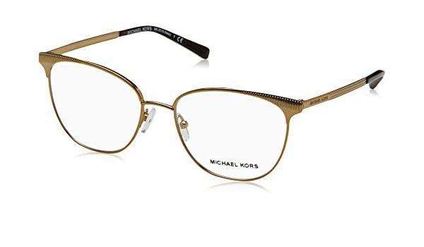 2acad03dce6 Eyeglasses Michael Kors MK 3018 1193 PALE GOLD-TONE at Amazon Men s  Clothing store