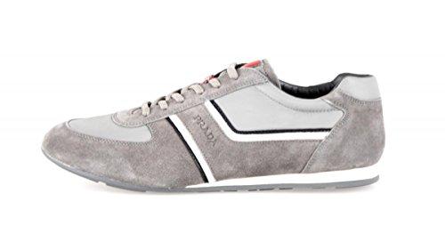 Prada uomo 4E2735Oqt F0EGG in pelle scarpe da ginnastica/sneaker