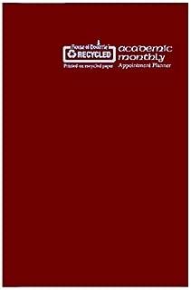 "product image for House of Doolittle 2016-2017 Planner, Academic, Burgundy, 7 x 10"" (HOD26104-17)"