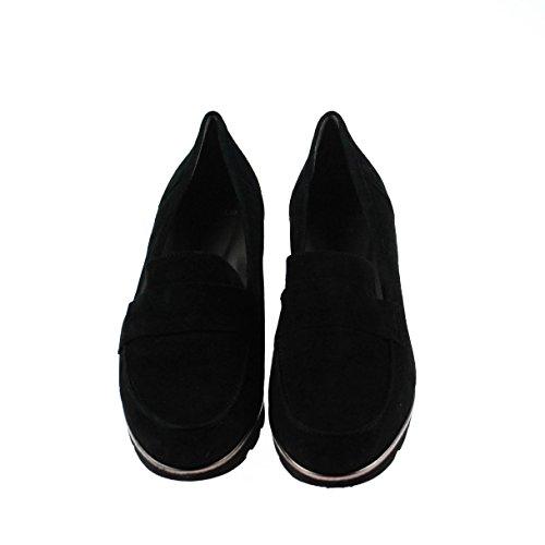 Perlato 8935 velour noir Schwarz