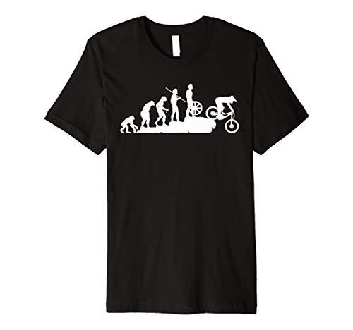 Evolution Downhill Mountain Bike MTB Mountain Biking T Shirt Premium T-Shirt