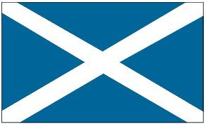 Scotland St Andrews CROSS Flag: 3x5ft Poly