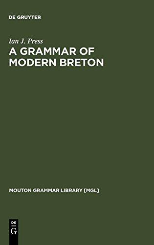 A Grammar of Modern Breton (Mouton Grammar Library)