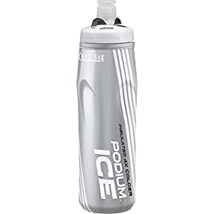 CamelBak Podium Ice Insulated Water Bottle, Snow, 21 oz
