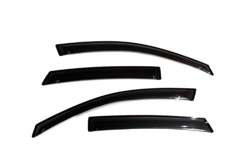 (Auto Ventshade 94968 Ventvisor Smoke Window Deflectors - 4 Piece)