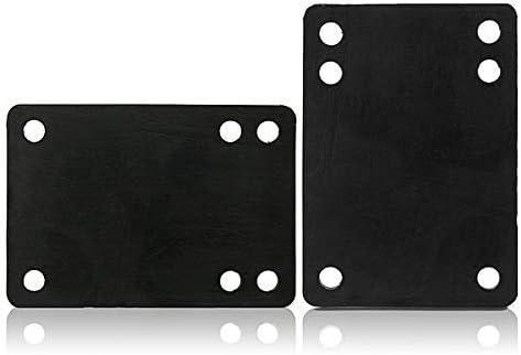Terrarum 2 x 3 mm weiche PU Skateboard Riser Pads Longboard Shockproof Teile