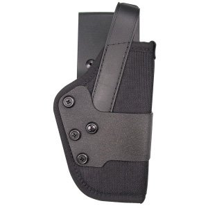 Uncle Mike's Kodra Nylon Standard Dual Retention Duty Jacket Holster (21, Right Hand)