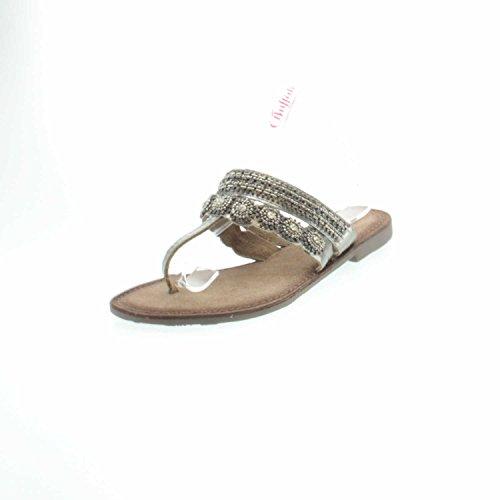 Buffalo1909 - Zapatillas de casa Mujer Plateado - plateado