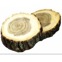 4'' x 6'' Mountain Mesquite Oval Grilling Plank - Box of 60 by Flame Grilling Products