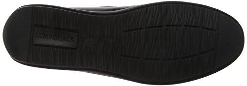 Nero Mocassini Loafer 002A01 Uomo Lumberjack Leman ZqXEUU