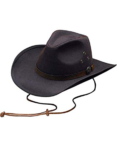 (Outback Trading CO Men's CO. Oilskin Trapper Hat Brown Large)