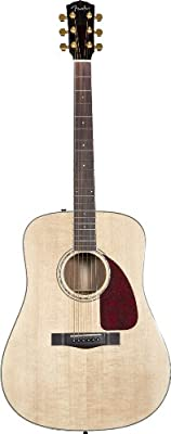 Fender CD-320AS Dreadnought Acoustic Guitar, Rosewood Fretboard - Natural
