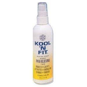 Kool N Fit Pain Relieving Liquid Spray - 4 Ounce
