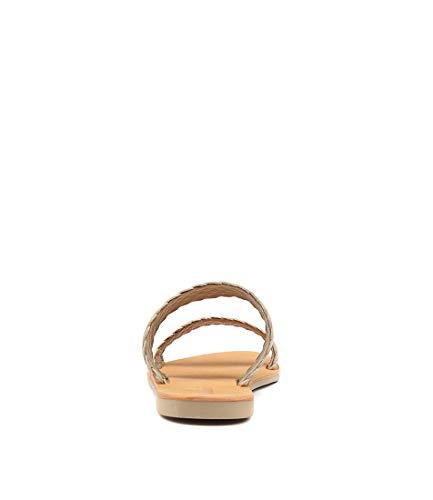 Sandals Black Summer Weave MOLLINI Leather Flat Womens Kora Nude Sandals pOAp0qTw