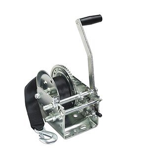 Fulton 142416 Dual Speed Trailer Winch with 20' Strap - 2600 lbs. capacity