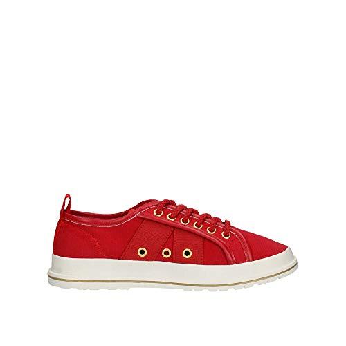 cuir Lumberjack bleu rouge Robert hommes pour véritable 001 Sm62505 en Sneakers q10qfp
