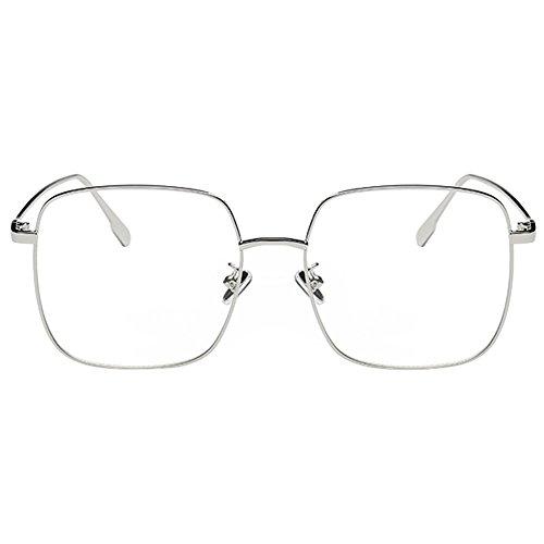 Meijunter Women Men Big Square Rim Myopia Glasses Nearsighted Eyeglass - Round Perfectly Eyeglasses