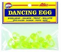 Atlas Mike's Bag of Dancing Salmon Fishing Bait Eggs (Pack of 10), ()