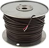 National Brand Alternative 648846 Thermostat Wire, 18 Gauge, 2 Wire 500 Ft, Pvc Jacket