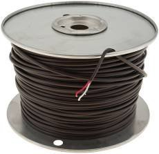 National Brand Alternative 648846 Thermostat Wire, 18 Gauge, 2 Wire 500 Ft, Pvc Jacket by National Brand Alternative