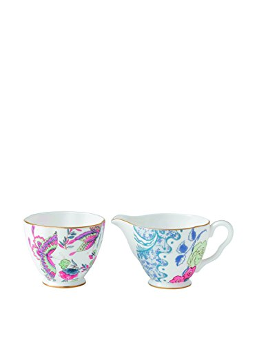 Wedgwood Harlequin Butterfly Bloom Ceramic Creamer and Sugar Cup by Wedgwood (Image #2)