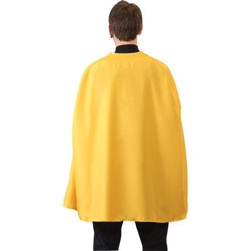 RG Costumes Loftus International Yellow Superhero Cape