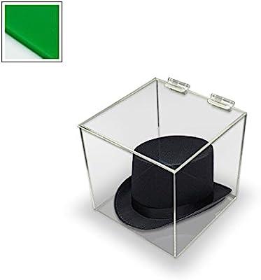 Caja de acrílico metacrilato expositor - con tapa - 300 mm Square ...
