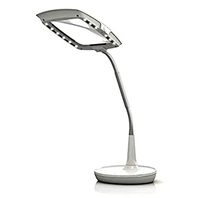 EnFren LED EF-200 Magnifying Reading Glass Microscope Stand Lens Light & Simple Enlgish User's Guide.