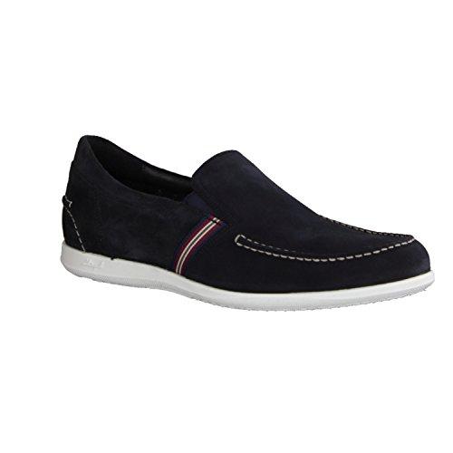 Lloyd Men's Loafer Flats Blue Blue 9 UK