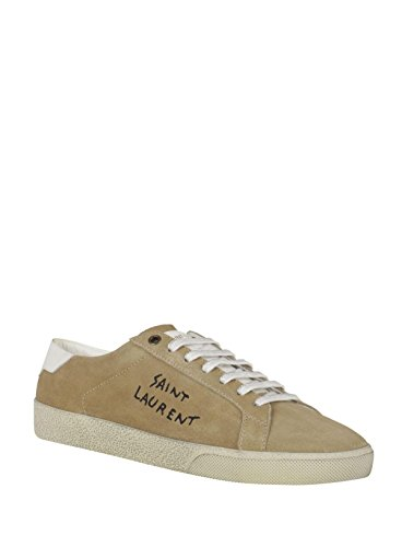factory outlet cheap online Saint Laurent Men's 498209D5X202651 Beige Suede Sneakers Cheapest cheap price cost sale online amazon sale online outlet with paypal jGGNyI