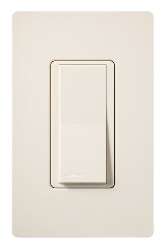 Lutron SC-3PS-ES Diva 15-Amp, 120-Volt to 277-Volt 3-Way Switch in Eggshell