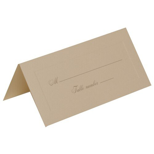 JAM Paper Foldover Table Placecards - 4 1/4
