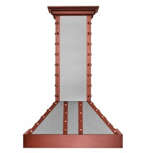 "Z Line 655-SCCCC-36 36"" 1200 CFM Designer Series Wall Mount Range Hood, Stainless Steel"