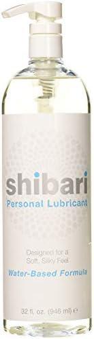 Shibari Water Based Intimate Lubricant, 32oz with Pump