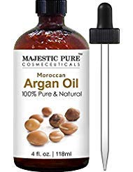 Argan Oil for Hair and Face - 100% Pure & Natural Organic Argan Oil - Certified, Cold Pressed Triple Extra Virgin Grade 1...