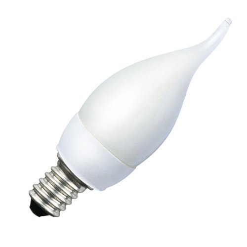 Bc Candle Lamp (Bell 7W BC/B22 (Bayonet Cap) Energy Saving Bent Tip 827 [2700K] Extra Warm White Colour Candle)