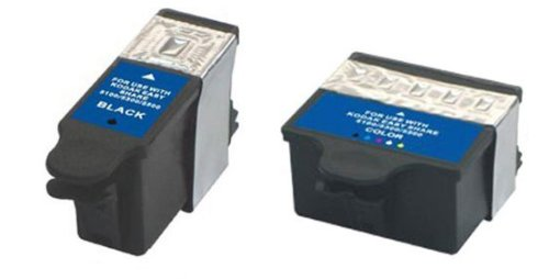 2 Pack Compatible Ink for Dell Series 21 22 23 24 All-In-One Printers P513w P713w V313 V313w V515w V715w